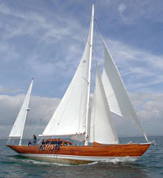 "Океанская гоночная яхта ""Bloodhound"""