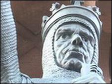 статуя Роберта Брюса