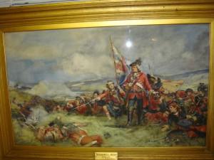 Черная Стража в битве при Фонтенуа, 11 мая 1745