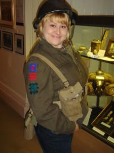 Полевая униформа Черной Стражи времен второй мировой войны