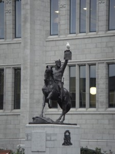 памятник Роберту Брюсу