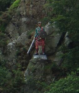 """статуя Роберта """"Роя"""" МакГрегора"""