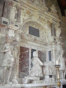 Внутреннее оформление мавзолея в старом Сконе