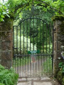 калитка в лесной сад, замок Кратес