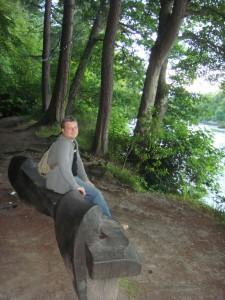 скамейка в парке Инвернеса