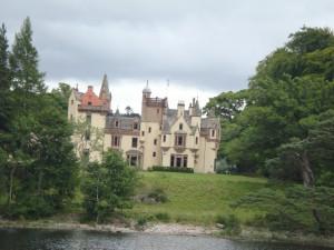 замок Олдаури, ныне отель
