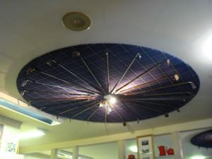 потолок кафе в Центре вереска