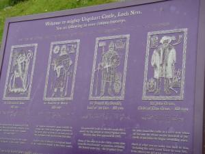 краткая историческая справка о замке Уркхарт