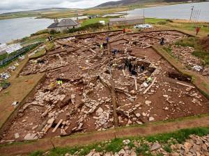 археологи работают на Оркнейских островах