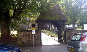 вход в церковь Святого Андрея в форте Уильям