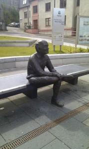 памятник пешему туристу