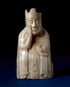 шахматная королева, найденная на острове Льюис