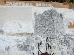 Caisteal Maol, информационная доска