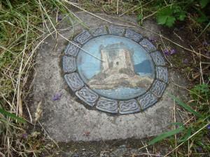 камень в начале секретной тропы к Дунакину