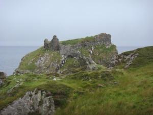 руины замка Дун Скай, остров Скай