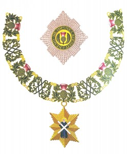 регалии ордена Чертополоха
