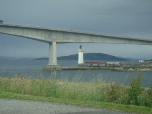 мост на большую землю около Кайлакина