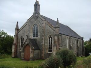 старая церковь на острове Скай