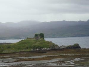 руины замка Нок, остров Скай
