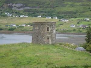 загадочное строение, остров Скай