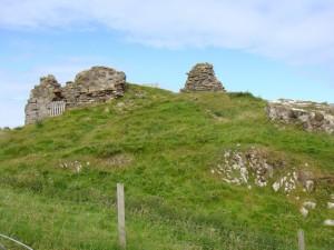 руины замка Дунтулм Касл