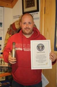 Эндрю Липер, шкипер из Шотландии, оказался обладателем рекорда