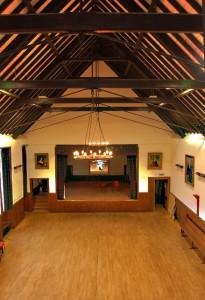 Зал дома культуры на Скае