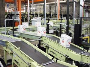 конвейер на заводе Chivas в Дамбартоне